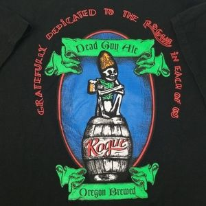 ROGUE BREWERY DeaD GuY ALE BeeR T-SHIRT